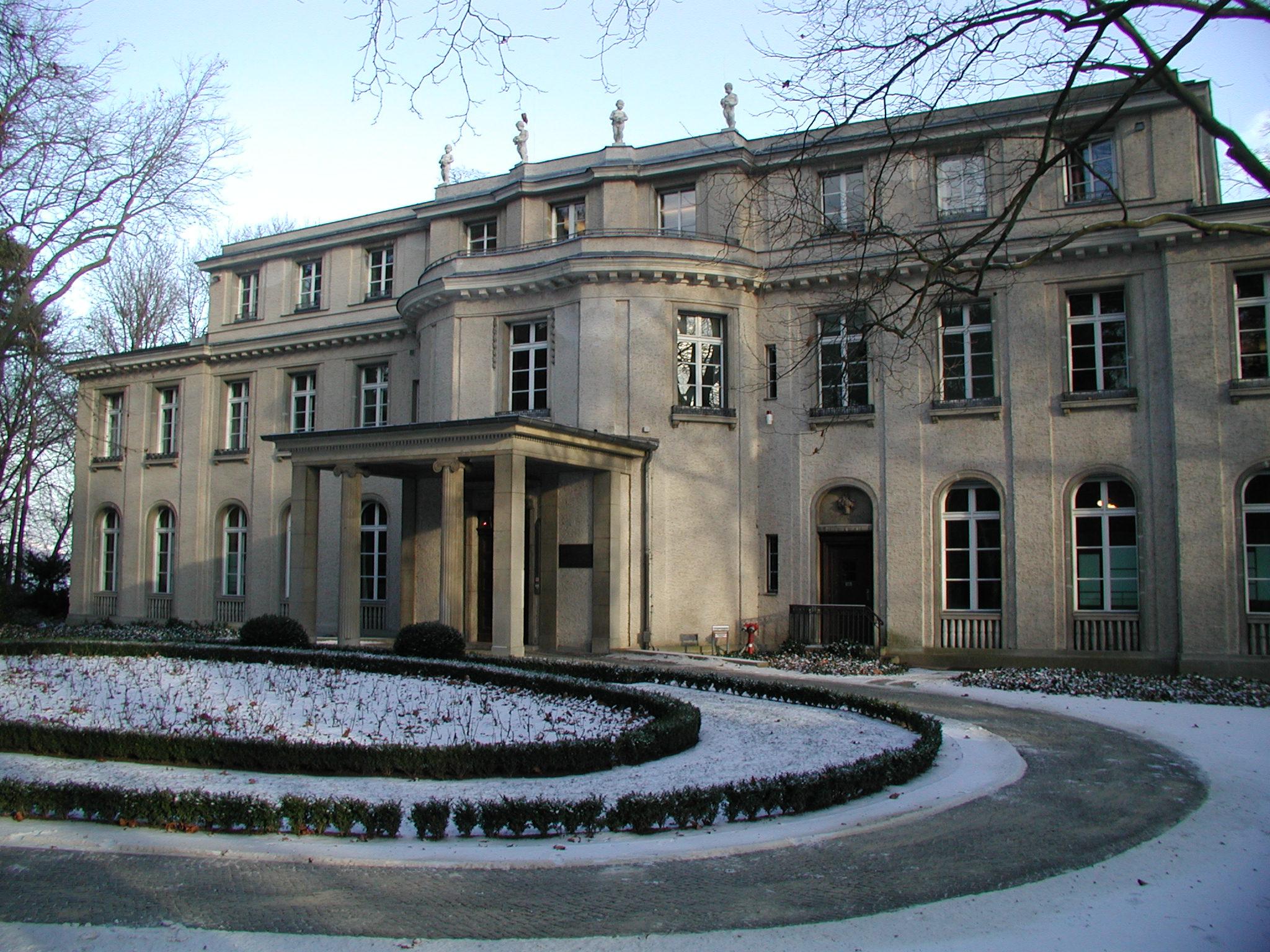 die Wannsee Konferenz 75 jaar